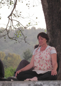 Nadine en méditation
